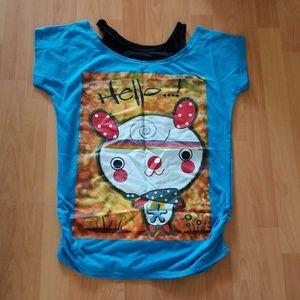 Hello tank and tee shirt